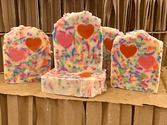 Valentine Party Cold Process Soap