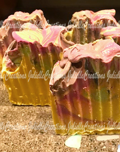 Pink peony Cold Process Soap